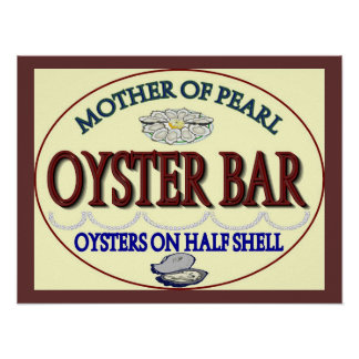 Old Pearl Oyster Bar Posters