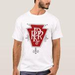Old Pennsylvania Railroad Logo Men's Light T-shirt