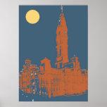 Old Philadelphia City Hall Poster