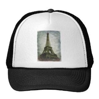 Old Photo Effect Eiffel Tower Paris Cap