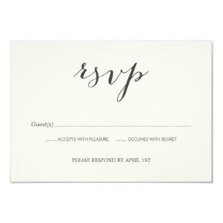 Old Photos Wedding RSVP card