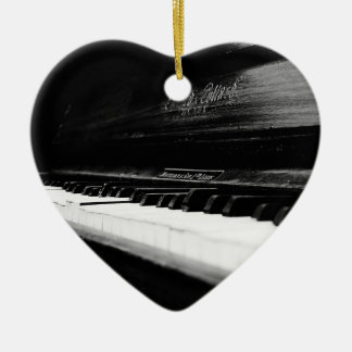 Old Piano Christmas Ornaments