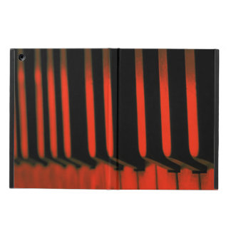 Old piano keys case for iPad air