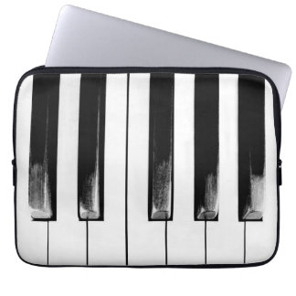 Old Piano Keys Funny Cool Computer Sleeve