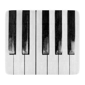 Old Piano Keys Funny Cool Cutting Board