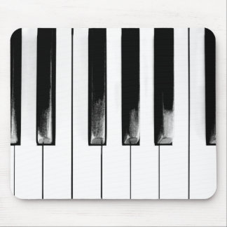 Old Piano Keys Funny Cool Mouse Mat