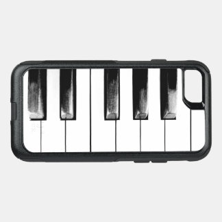 Old Piano Keys Funny Cool OtterBox Commuter iPhone 8/7 Case