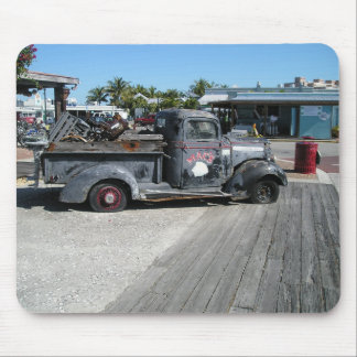 Old Pickup Truck Mouse Mat