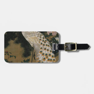 Old Pine Tree and Peacock by Ito Jakuchu Bag Tags