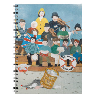 Old Pirates of Penzance Note Books