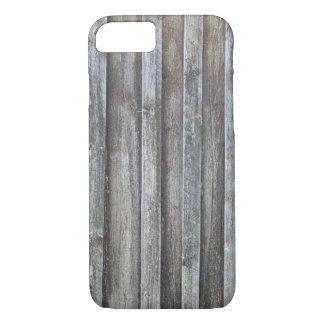 Old plank barn wall iPhone 7 case