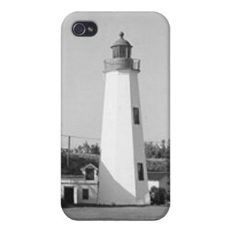 Old Point Comfort Lighthouse Covers For iPhone 4