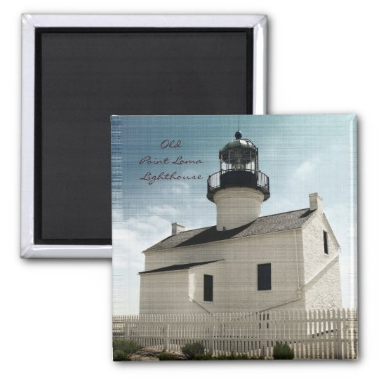 Old Point Loma Lighthouse Magnet