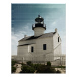 Old Point Loma Lighthouse Poster