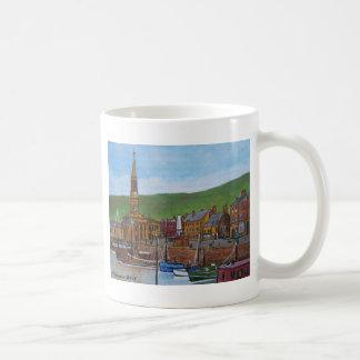 Old Port  Glasgow Harbour Basic White Mug