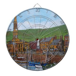 Old Port  Glasgow Harbour Dartboard