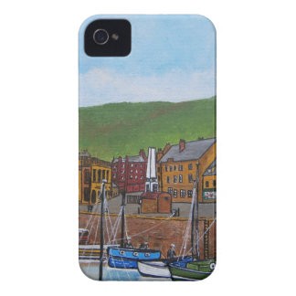 Old Port  Glasgow Harbour iPhone 4 Case-Mate Cases