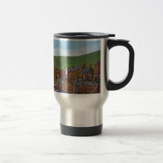 Old Port  Glasgow Harbour Stainless Steel Travel Mug