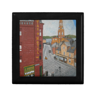 Old Port Glasgow with Town Clock Gift Box