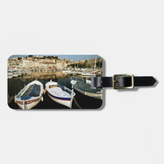 Old port luggage tag