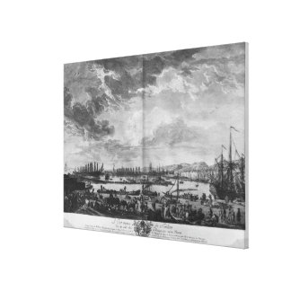 Old Port of Toulon Canvas Print