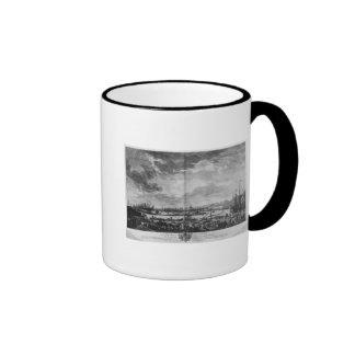 Old Port of Toulon Ringer Coffee Mug