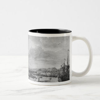 Old Port of Toulon Two-Tone Coffee Mug