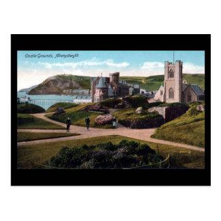 Old Postcard - Aberystwyth Castle