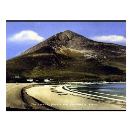 Old Postcard - Achill Island, Co Mayo, Ireland