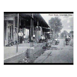 Old Postcard - Ackerman, Mississippi