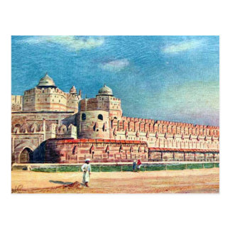Old Postcard - Agra Fort, India