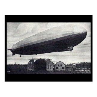 "Old Postcard - Airship ""Graf Zeppelin"""