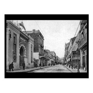 Old Postcard - Algeria, Oran, Rue d'Arzew