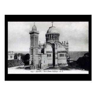 Old Postcard - Algiers, Notre-Dame d'Afrique