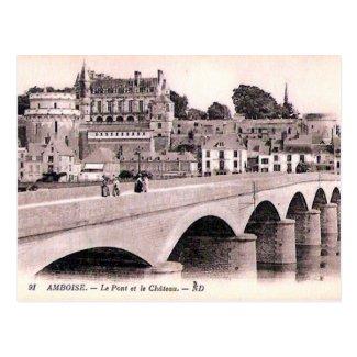 Old Postcard - Amboise, Indre-et-Loire