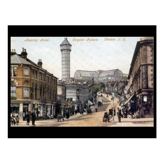 Old Postcard - Anerly Rd, Crystal Palace, London