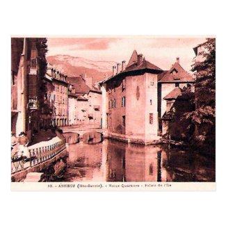Old Postcard - Annecy, Haute Savoie