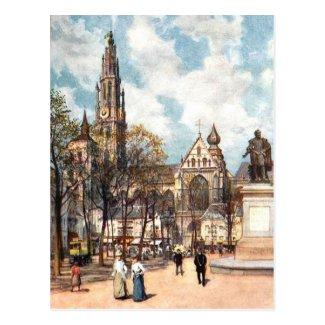 Old Postcard - Antwerp/Anvers, Belgium