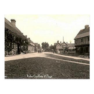 Old Postcard - Aston Cantlow, Warwickshire