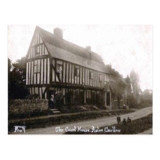 Old Postcard - Aston Cantlow, Warwickshire