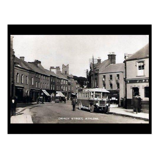 Old Postcard - Athlone, Co Westmeath, Ireland
