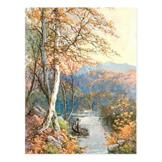 Old Postcard - Autumn