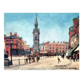 Old Postcard - Aylesbury, Buckinghamshire