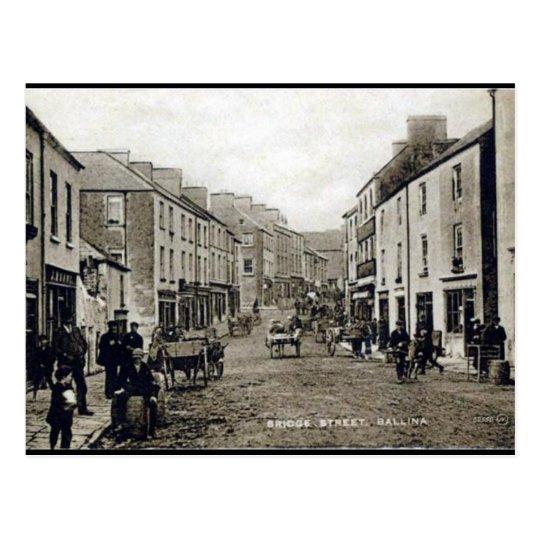 Old Postcard - Ballina, Co Mayo, Ireland