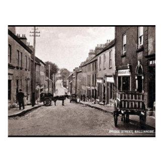 Old Postcard - Ballinrobe, Co Mayo, Ireland