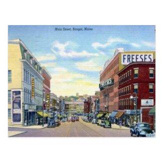 Old Postcard - Bangor, Maine, USA