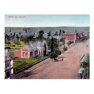 Old Postcard - Bathurst, NSW, Australia