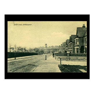 Old Postcard - Beach Rd, Littlehampton, Sussex