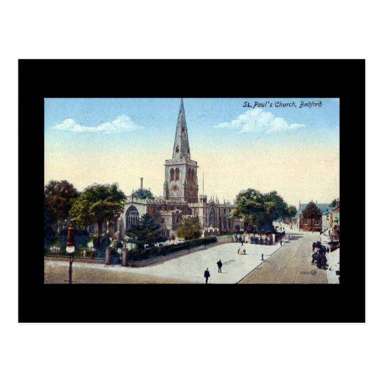Old Postcard, Bedford in 1923 Postcard