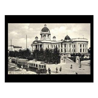 Old Postcard, Belgrade in 1940 Postcard